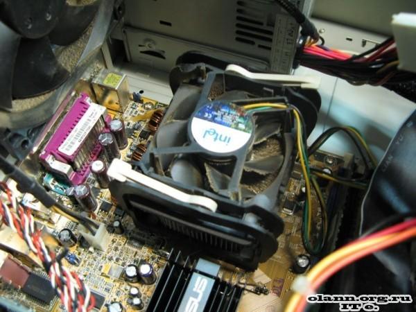 Пыль в компьютере